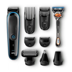 Set de afeitado multifunción Braun MGK3080