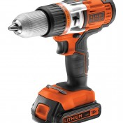 Taladro percutor sin cable Black+Decker EGBHP188K-QW