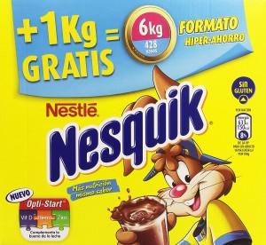 cacao soluble Nesquik envase de 6kg