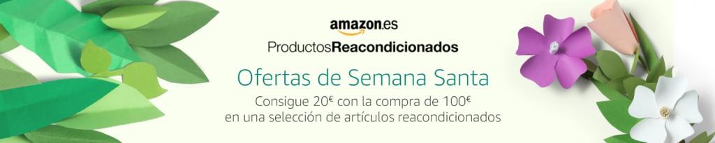 20€ de de dto con la compra de 100€ en selección de productos reacondicionados
