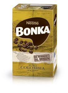 Lote 4 paquetes de café tostado molido puro Colombia Bonka