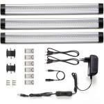 Pack de 3 barras LED fluorescente LE