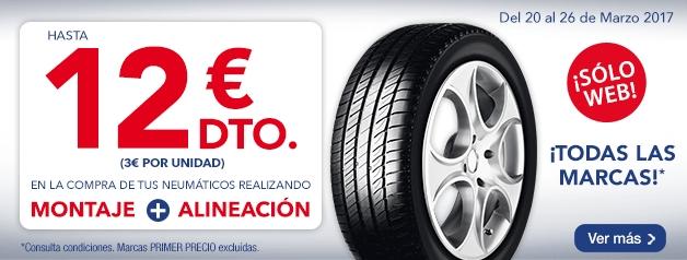 Promoción neumáticos norauto