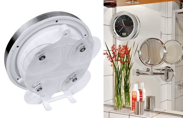 Reloj para baño con indicador de temperatura Bresser MyTime