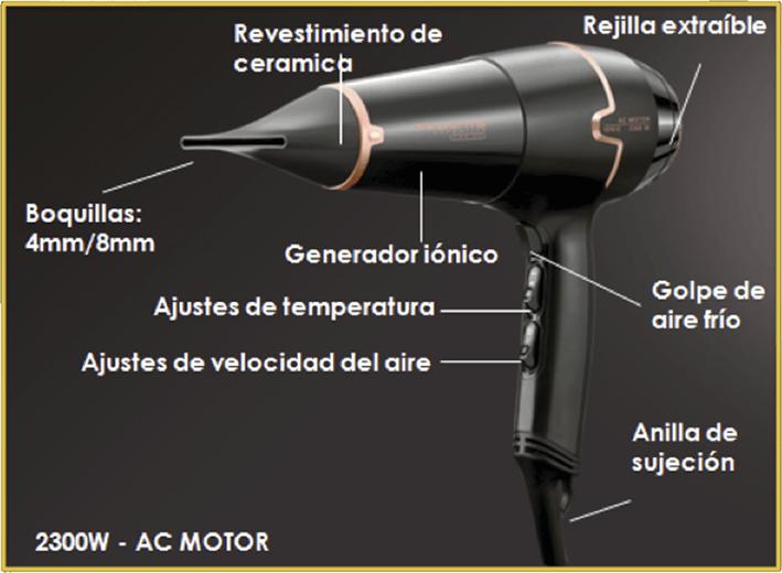 Secador pelo Rowenta Expertise Pro Ac CV9520