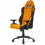 Silla Gaming AKRACING AK-7018 Negra Naranja