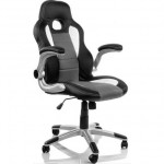 Silla Racing Sports Negra Gris