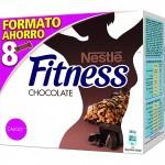 barritas de cereales con chocolate Nestlé Fitness