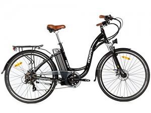 Bicicleta eléctrica paseo SHIMANO Moma