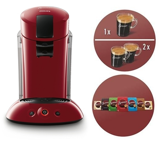 Cafetera monodosis Philips Senseo Original XL HD7818