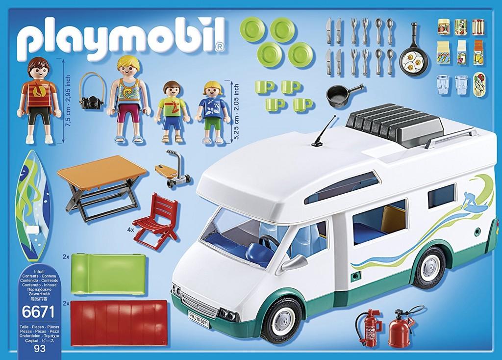 Caravana verano Playmobil 6671