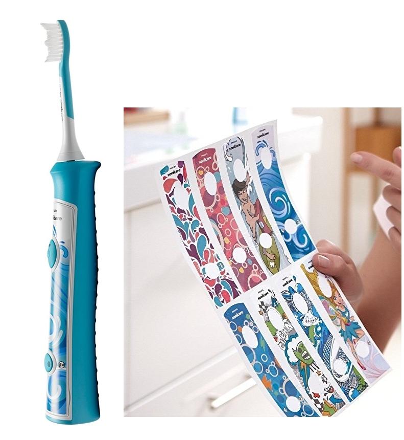 Cepillo de dientes sónico Philips Sonicare HX6311 07 para niños