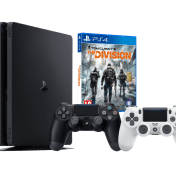 Lote Consola PS4 500GB + 2 Mandos DualShock 4 (uno negro y uno blanco)+ juego The Division