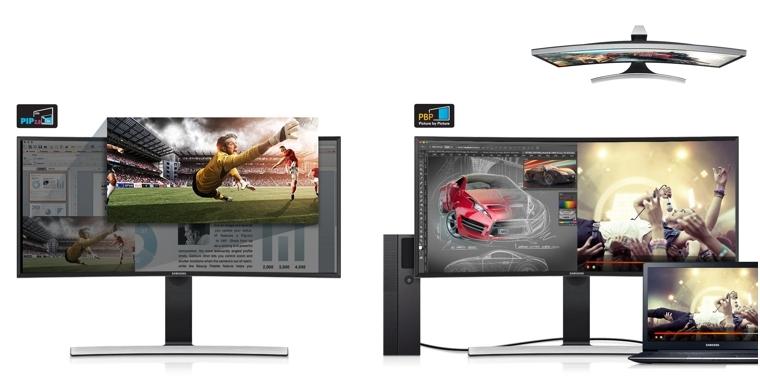 Monitor curvo de 34 pulgadas Samsung S34E790C