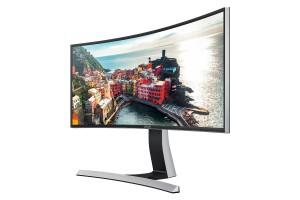 Monitor curvo de 34 pulgadas Wide QHD Samsung S34E790C