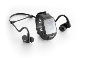 Reloj deportivo TomTom SPARK 3 Music y auriculares