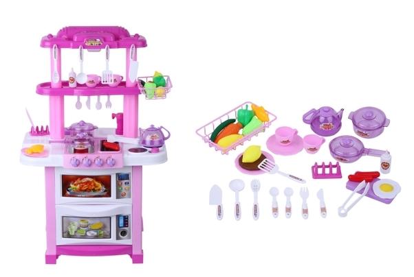 Cocina de juguete Excelvan 768B