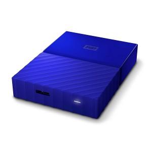 Disco duro de 4TB Western Digital My Passport color azul