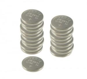 Pack 20 pilas de botón Varta CR2032