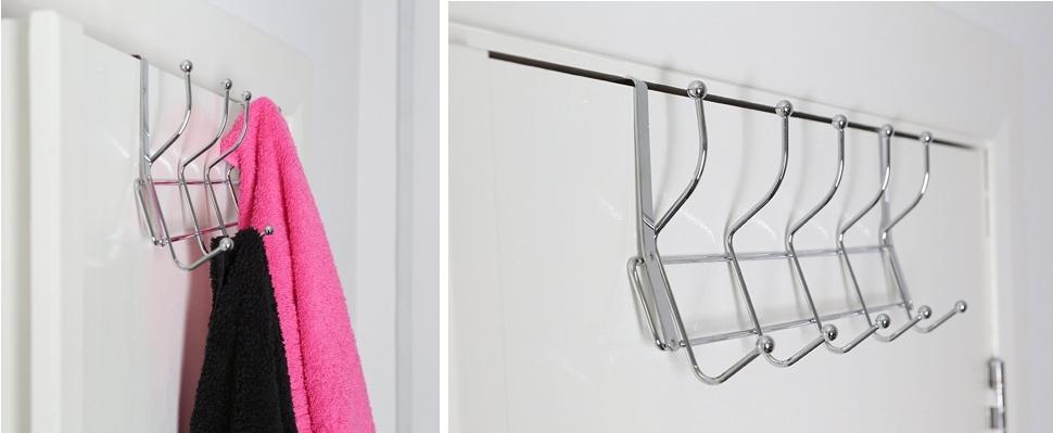Perchero para puerta Premier Housewares metálico