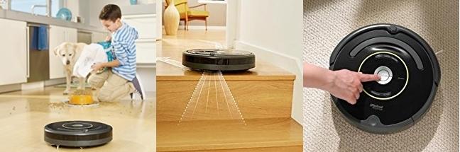 Robot aspirador programable iRobot Roomba 650
