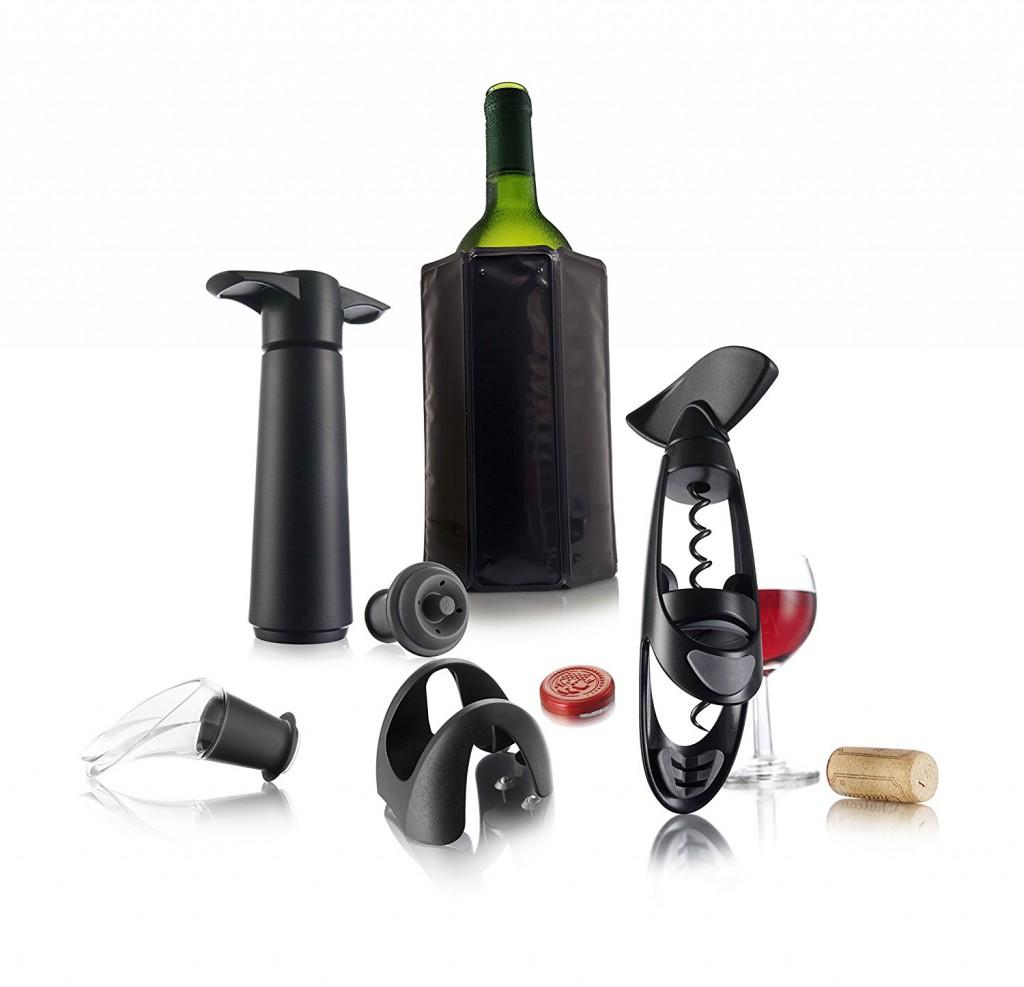 Set de vino Vacu Vin Experienced
