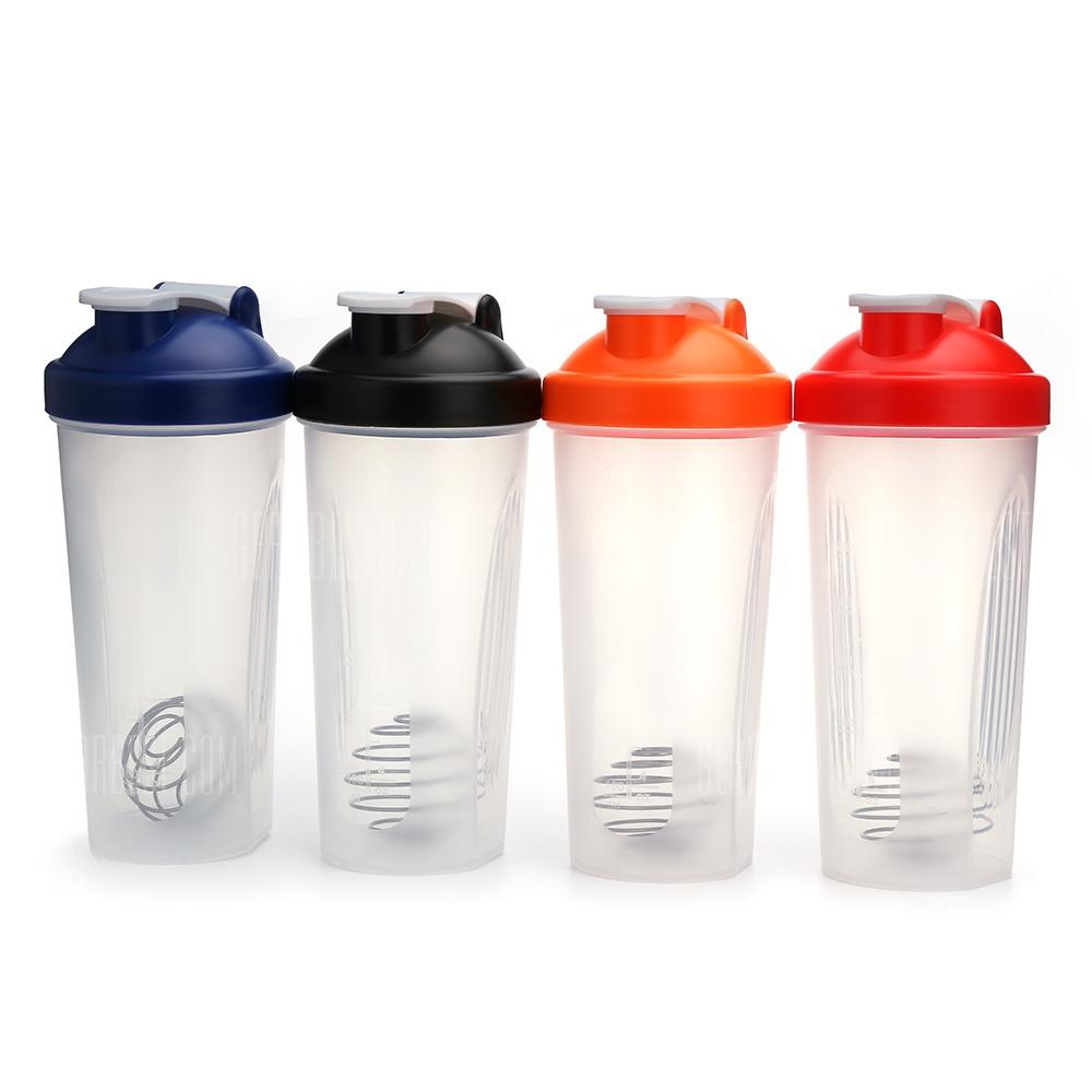 Botella mezcladora Protein Shaker Mixer de 600ml varios colores