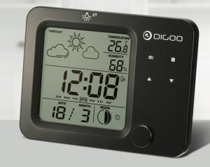 Estación meteorológica Digoo DG-C5 color negro