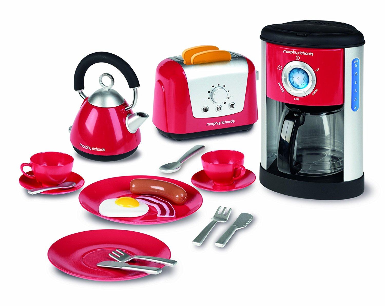 Casdon morphy richards juego de utensilios de cocina - Cocina de juguete ...