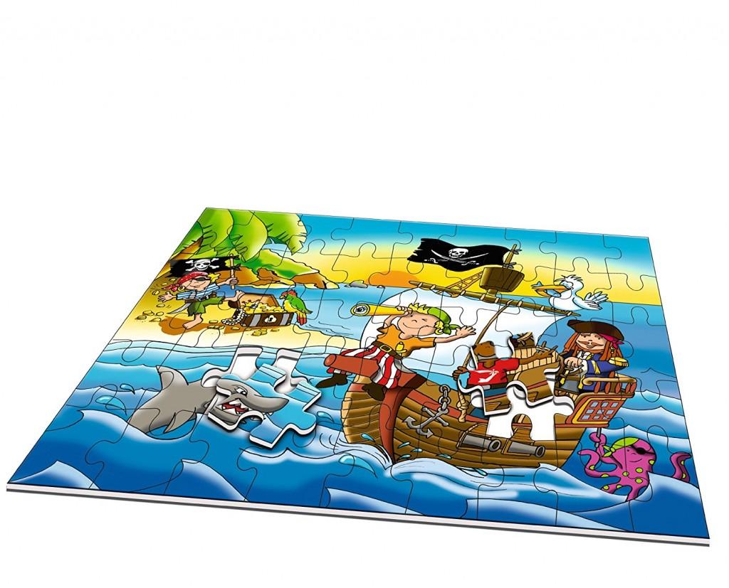 Puzzle diseño de piratas Noris 45 piezas