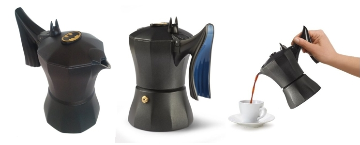 Cafetera diseño Batman