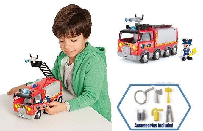 Camión de bomberos Mickey Mouse de IMC Toys