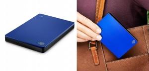 Disco duro externo portátil de 2 TB Seagate Backup Plus Slim azul