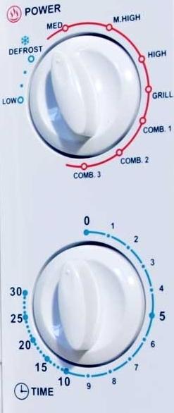 Microondas Taurus 970924000 Instant con grill detalles