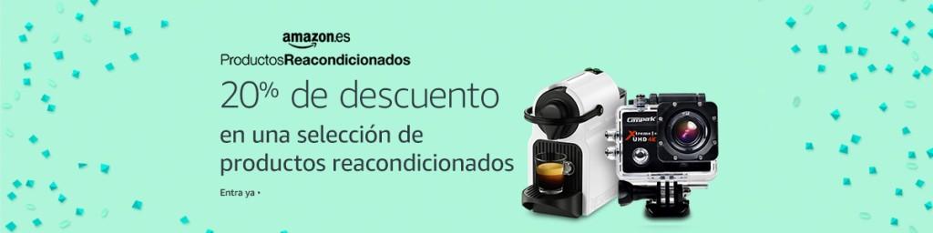 Productos reacondicionados Amazon julio
