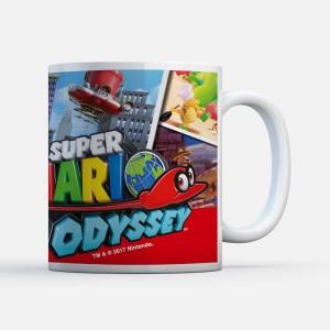 Taza Nintendo Super Mario Odissey Cappy