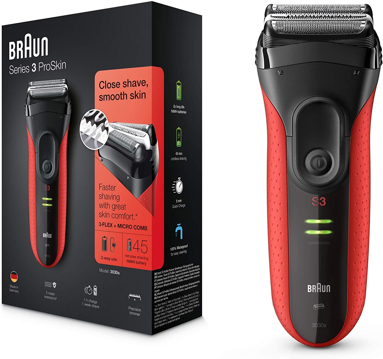 Afeitadora eléctrica Braun Series 3 ProSkin 3030s