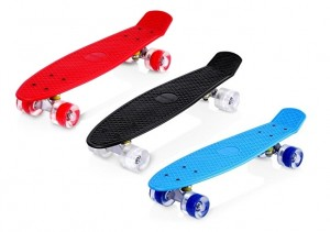 Monopatín Skateboards Retro Crucero Enkeeo varios colores