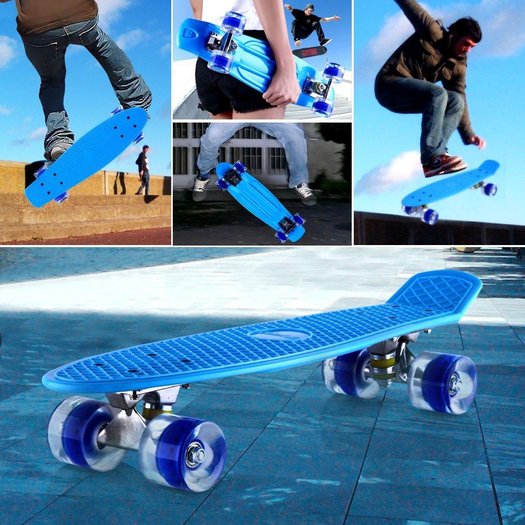 Monopatín Skateboards Retro Crucero Enkeeo