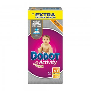 Pañales Dodot Activity Extra talla 4