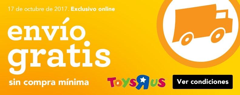 Envío gratis sin compra mínima en toys r us