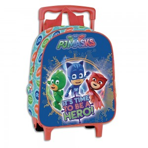 Trolley Guarderia Time Pj Masks