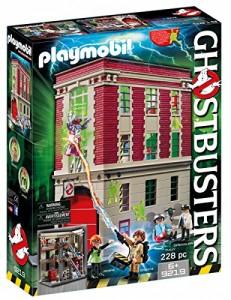 Cuartel parque de bomberos Ghostbusters Playmobil 9219