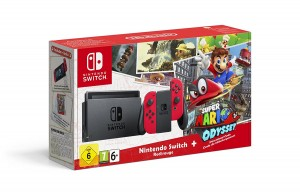 Pack Consola Nintendo Switch Color Rojo Neón