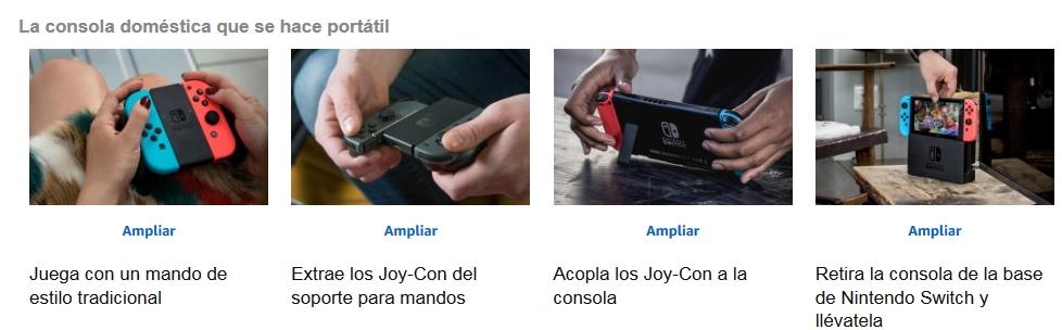 caracteristicas Nintendo Switch