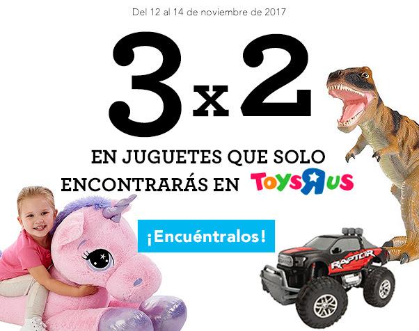 3x2 en juguetes que sólo encontrarás en Toys R Us