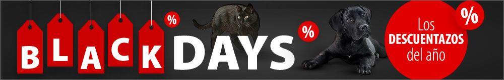 BLACK DAYS para mascotas de zooplus