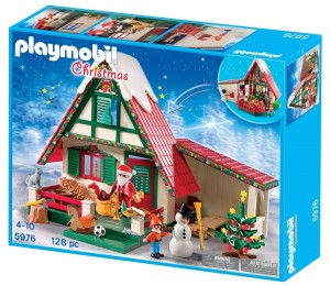 Casa de Papá Noel Playmobil Navidad 5976