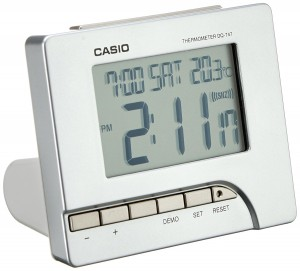 Despertador Casio Wake Up Timer DQ-747-8EF