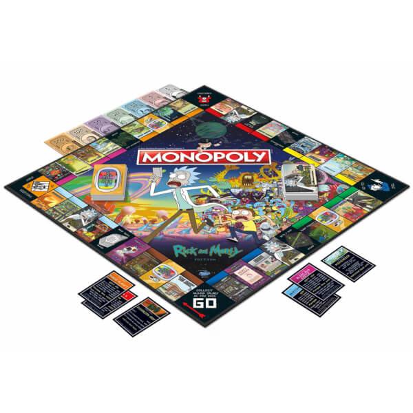 Juego Monopoly Rick y Morty